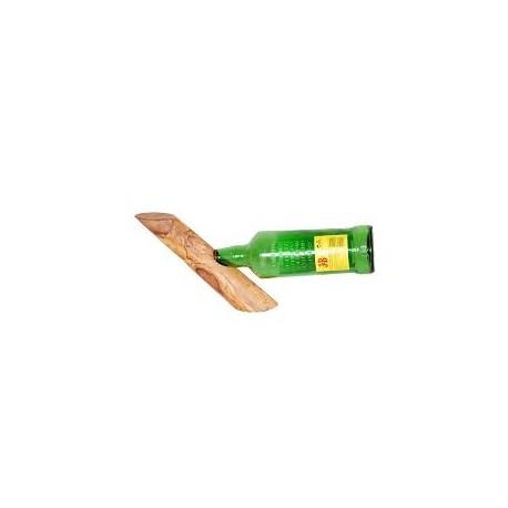 Olive Wood Single Wine Bottle Holder