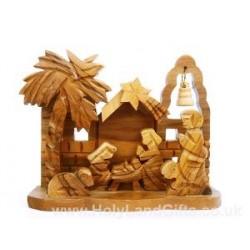 Olive Wood Church Nativity
