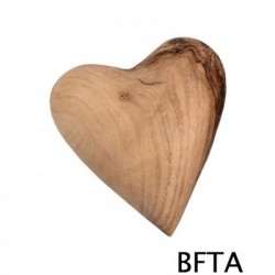 Olive Wood Heart – Small